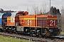 """Vossloh 5001761 - COLAS RAIL """"21"""" 23.03.2008 - Düren-DistelrathReinhard Gessen"""