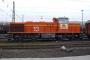 """Vossloh 5001774 - Railion """"266 774-9"""" 28.10.2007 - Hagen-Vorhalle, BetriebshofPeter Gerber"""