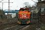 "Vossloh 5001775 - Railion ""266 775-6"" 11.03.2009 - Bochum-PräsidentAlexander Leroy"