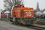 "Vossloh 5001779 - Railion ""266 779-8"" 30.11.2007 - Moers, Vossloh Locomotives GmbH, Service-ZentrumAxel Schaer"