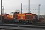 """Vossloh 5001779 - Railion """"266 779-8"""" 26.01.2008 - Hagen-Vorhalle, Triebfahrzeug ServicestelleIngmar Weidig"""