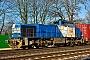 "Vossloh 5001836 - duisport ""275 635-1"" 18.01.2016 - Duisburg-Neudorf, Abzweig LotharstraßeLothar Weber"