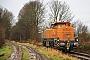 Vossloh 5401962 - BASF 17.12.2013 - Altenholz, Bahnübergang LummerbruchBerthold Hertzfeldt
