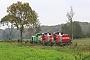 "Vossloh 5502201 - CFL Cargo ""92 82 4185 306-0 L-CFLCA"" 24.10.2017 - bei Altenholz-Klausdorf.Berthold Hertzfeldt"