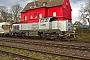 """Vossloh 5502216 - RheinCargo """"DE 18"""" 22.03.2017 - Ratingen-LintorfLothar Weber"""