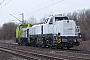 "Vossloh 5502224 - Eiffage ""92 87 4185 012-9 F-ERSF"" 24.03.2018 - Hannover-Misburg