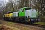 "Vossloh 5502375 - VL ""92 87 4185 025-1 F-VL"" 21.02.2019 - Altenholz, Bahnübergang LummerbruchJens Vollertsen"