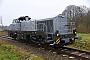 "Vossloh 5502378  - RheinCargo ""DE 505"" 17.12.2018 - Altenholz, Bahnübergang LummerbruchJens Vollertsen"