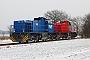 """Vossloh 5702070 - RWE Power """"589"""" 26.01.2013 - RathmannshofTomke Scheel"""
