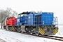 """Vossloh 5702070 - RWE Power """"489"""" 26.01.2013 - RathmannshofTomke Scheel"""