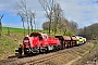 """Voith L04-10066 - DB Cargo """"261 015-2"""" 22.04.2021 - Zoblitz-Löbau (Sachsen)Torsten Frahn"""