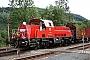 """Voith L04-10073 - DB Schenker """"261 022-8"""" 16.08.2011 - Blankenstein (Thüringen), BahnhofVolker Seidel"""