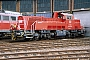 "Voith L04-10074 - DB Schenker ""261 023-6"" 20.09.2014 - Halle (Saale), Betriebshof G