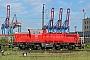 """Voith L04-10079 - DB Schenker """"261 028-5"""" 31.05.2014 - Hamburg-WaltershofEdgar Albers"""