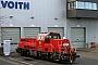 """Voith L04-10096 - DB Cargo """"261 045-9"""" 28.01.2021 - Kiel-Wik, NordhafenTomke Scheel"""