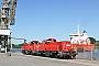 """Voith L04-10098 - DB Schenker """"261 047-5"""" 02.08.2013 - Kiel-Wik, NordhafenTomke Scheel"""