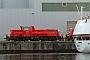 """Voith L04-10103 - DB Schenker """"261 052-5"""" 27.09.2011 - Kiel-Wik, NordhafenTomke Scheel"""