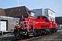 """Voith L04-10103 - DB Schenker """"261 052-5"""" 28.09.2011 - Kiel-Wik (Nordhafen)Stefan Motz"""