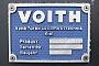 """Voith L04-10111 - DB Schenker """"261 060-8"""" 19.01.2013 - Halle (Saale), Werk GAndreas Kloß"""