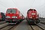 "Voith L04-10116 - DB Cargo ""261 065-7"" 08.02.2017 - Großkorbetha, BahnhofAndreas Kloß"