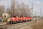 """Voith L04-10117 - DB Cargo """"261 066-5"""" 30.03.2018 - Leipzig-TheklaAlex Huber"""