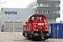 """Voith L04-10124 - DB Schenker """"261 073-1"""" 09.03.2012 - Kiel-Wik, NordhafenTomke Scheel"""