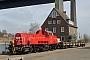 """Voith L04-10125 - DB Schenker """"261 074-9"""" 26.03.2012 - Kiel-Wik, NordhafenTomke Scheel"""