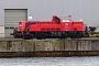 """Voith L04-10125 - DB Cargo """"261 074-9"""" 15.11.2019 - Kiel-Wik, NordhafenTomke Scheel"""