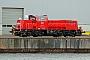 """Voith L04-10126 - DB Schenker """"261 075-6"""" 02.04.2012 - Kiel-Wik, NordhafenTomke Scheel"""