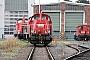 """Voith L04-10129 - DB Schenker """"261 078-0"""" 20.09.2014 - Mainz-Bischofsheim, BetriebshofRalf Lauer"""