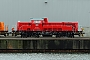 """Voith L04-10150 - DB Schenker """"261 099-6"""" 06.01.2013 - Kiel-Wik, NordhafenTomke Scheel"""