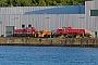 """Voith L04-10156 - DB Cargo """"261 105-1"""" 13.07.2018 - Kiel-Wik, NordhafenTomke Scheel"""