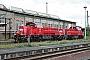 """Voith L04-18003 - DB Schenker """"265 002-6"""" 03.05.2014 - Blankenburg (Harz), BahnhofKlaus Dietrich"""
