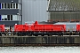 """Voith L04-18009 - DB Schenker """"265 008-3"""" 26.12.2012 - Kiel-Wik, NordhafenTomke Scheel"""