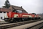 """Voith L04-18034 - HzL """"V 181"""" 30.04.2013 - Gammertingen, BahnhofGerald Wittner"""